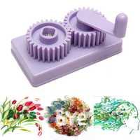 Plastic Paper Quilling Crimper Machine Crimping Paper Craft Quilled DIY Art Tool Craft Card Kit