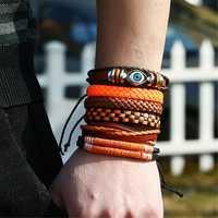 6 Pcs Vintage Bangle Bracelets Set