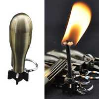 IPRee® Outdoor Ignitor Starter Zinc Alloy Kerosene Missile 10000 Times Fire Lighter