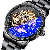 IK COLOURING 98226G Skeleton Dial Automatic Mechanical Watch