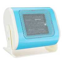 500w Horizontal Mini Heater Electric Heater Small Desktop Heater Winter Warmer Fan Camping Heating Device