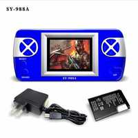 SY 988A 888 in 1 2.4 inch Color Screen with Eye Protection Mode Rechargeable Handheld Game Gonsole