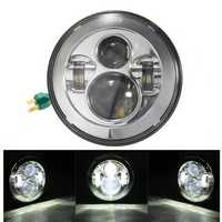 7inch H4 H13 Motorcycle Projector Hi/Lo LED Headlight for Harley Davidson Jeep Wrangler