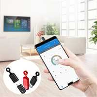 Baseus 2 in 1 Metal Mini Type-c IR Remote Control Dustproof Plug for Samsung Xiaomi Mobile Phone