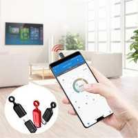 Baseus 2 in 1 Metal Mini Type-c IR Remote Control Dustproof Plug for Samsung Xiaomi Mobile Phone