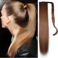 Long Straight Ponytail Synthetic Hair Extension