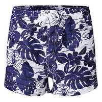 SEOBEAN Fashion Casual Peach Skin Comfortable Printing Surfing Beach Board Shorts for Men
