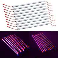 10PCS 50CM SMD5730 Red:Blue 3:1 LED Plant Grow Rigid Strip Hydroponic Light Kit DC12V
