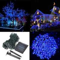 500 LED Solar Powered Fairy String Light Garden Party Decor Xmas