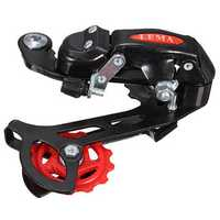 Bicycle Transmission Rear Derailleur 7 21 Speed For Mountain Bicycle Metal Black