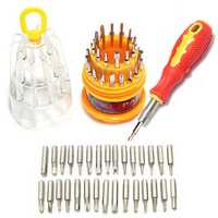 Bakeey™ 31 in 1 Multi-function Precision Screwdriver Set Repair Tool Kits for Phone Tablet Watch PDA