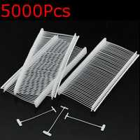5000Pcs Strong Barbs Fasteners For Garment Brand Price Label Tag Pin Tagging Gun