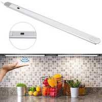 DC12V 40CM 5.6W Hand Wave 24 LED Under Cabinet Rigid Strip Light for Bar Kitchen Bathroom Home Decor