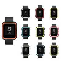 Bakeey Armor Version Two-color TPU Soft Break Protector Cover for Xiaomi AMAZFIT Bip Pace Youth