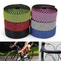 BIKIGHT Handlebar Tape Bicycle Road Bike Sports Cork Grip Wrap Ribbon Tape Bar Plug