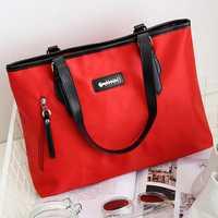 Women Nylon Waterproof Fashion Durable Handbag Shoulder Bag