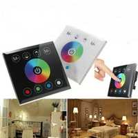 DIY Home Lighting RGBW LED Touch Panel Controller Touch Dimmer Switch For LED Strip Light DC 12-24V