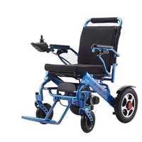 110V/220V Folding Electric Wheelchair Mobility Old Elderly Disabled Portable Rollstuhl Scooter