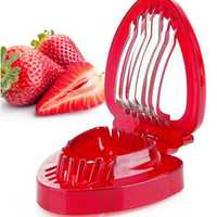 Strawberry Slicer Kitchens Cooking Gadgets Accessories Fruit Carving Tools Fruit Slicing Tools
