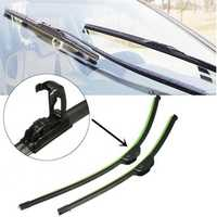 Pair 24 inch 19 inch Universal J-Hook Car Window Wind Shield Wiper Blade