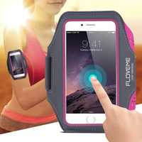 FLOVEME Universal Waterproof Running Sport Armband Case For phone Under 5.5 inch