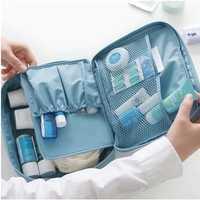 Honana HN-TB16 Travel Organizer Portable Storage Bag Cosmetic Toiletry Wash Bag Case Hanging Pouch