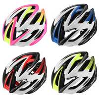 BIKIGHT Breathable Unisex Bicycle Magnetic Helmets Goggles Bike Helmet Night Light