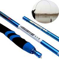 ZANLURE LW-01 Full Carbon Fiber Ultra-light Ultra Hard 28 Stream Hand Pole Taiwan Fishing Rod