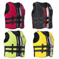 Life Jacket Water Ski Premium Neoprene Vest Wakeboard Kayaking Drifting Swimming