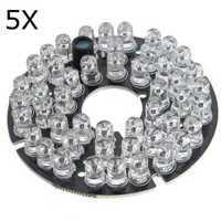 5Pcs 48 LED IR Infrared Illuminator Bulb Board For CCTV Security Camera