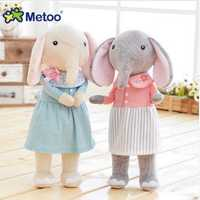12.5 Inch Metoo Elephant Doll Plush Sweet Lovely Kawaii Stuffed Baby Toy For Girls Birthday