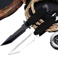 High Hardness Tactical Army Mini Blade Outdoor Survival Tools Kit Multifuctional EDC Blade