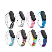 Bakeey Replacement Camouflage Multi-color Design Silicone Watch Band for Xiaomi Mi Band 3