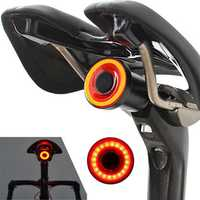 XANES STL07 Smart Bike Tail Light Brake Sensing USB Rechargeable IPX6 Waterproof Rear Light