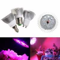 8W Flower Plant Hydroponic Full Spectrum Grow Light LED Bulb Grow Lamp Bulb