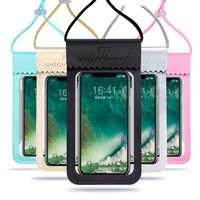 Universal Double Sealing Waterproof HD Touch Screen Phone Bag Pouch for iPhone Xiaomi