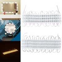 20PCS DC12V 8W SMD5730 Makeup Mirror Vanity LED Module Strip Light for Home Decoration