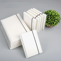 A6 Spiral Coil Notebook To-Do Lined Dotted Blank Grid Paper Journal Diary Sketchbook School Supplies