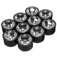 10pcs 60° 90° 120° LED Lens for High Power DIY Black Light Lamp Bulb