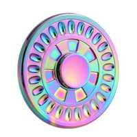 ECUBEE Colorful EDC Fidget Spinner Hand Spinner Finger Focus Reduce Stress Gadget