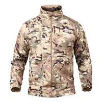 Mens Python Tactical Camo Outdoor Casual Thin Skin Coat