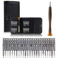 DANIU 25 in 1 Multi-purpose Precision Screwdriver Wallet Set Repairtools