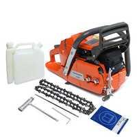 3.4KW 18 Inch Blade Professional Wood Cutter Chain Saw Heavy Duty Gasoline Chainsaw HUS365 65CC