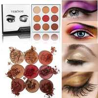 9 Colors Eye Shadow Palette Matte Shimmer