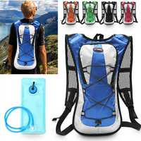 5L Polyester Backpack 2L Water Bladder Bag Hydration Pack for Outdoor Climbing Hiking Cycling
