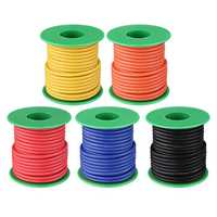 10M 14AWG Soft Silicone Wire Cable High Temperature Tinned Copper Line