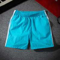 Polyester Quickly Dry Patchwork Pockets Shorts