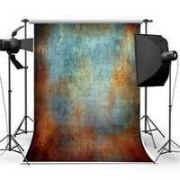 3x5FT Vinyl Cloth Retro Green Rust Photography Backdrop Background Studio Prop
