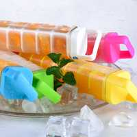 KCASA KC-IC01 Ice Cups PC Plastic Popsicle Maker Mould Ice Cube Lattice Mold With Cloth Set DIY Tool