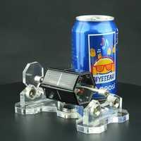 Hexagon Solar Magnetic Levitation Mendocino Motor Horizontal Levitating Stand Educational Model Gift